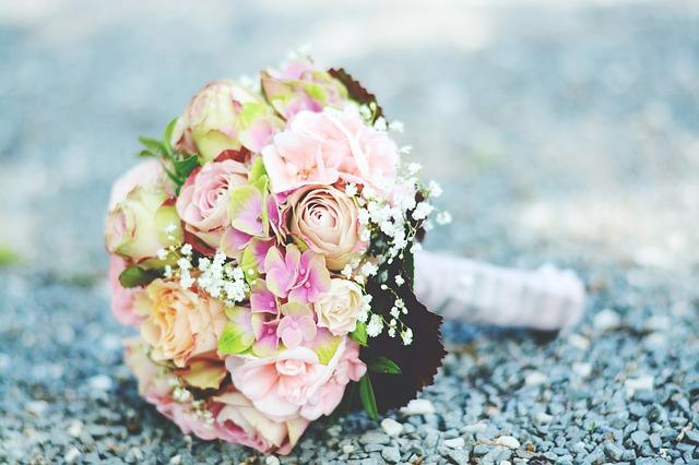 Brautstrauß pastellfarben